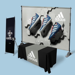 saver trade show display kit