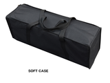 portable travel case for pop up backdrop premium trade show display kit