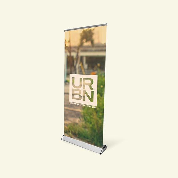 premium retractable banner stand for trade show