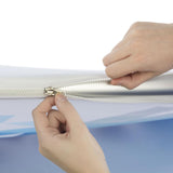 6ft Tabletop Curved Tube Pop up Display zipper