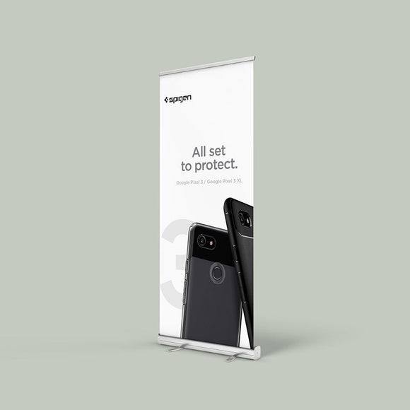 standard retractable banner stand for trade show