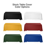 stock color table throw available color options