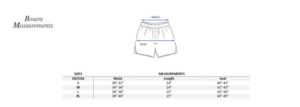 Boxer measurements