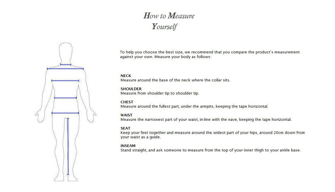 How to measure yourself for best fit