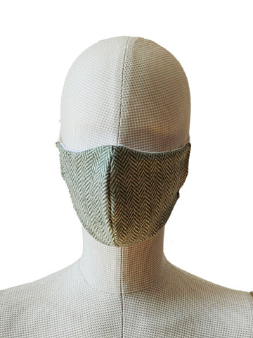 The Cotton® Tweed Face Cloth Mask- Navy