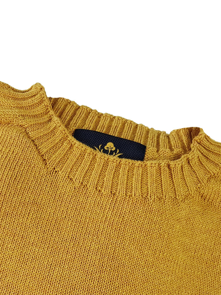 Pure Dakota Cotton Crew Neck Jumper - Mostrada