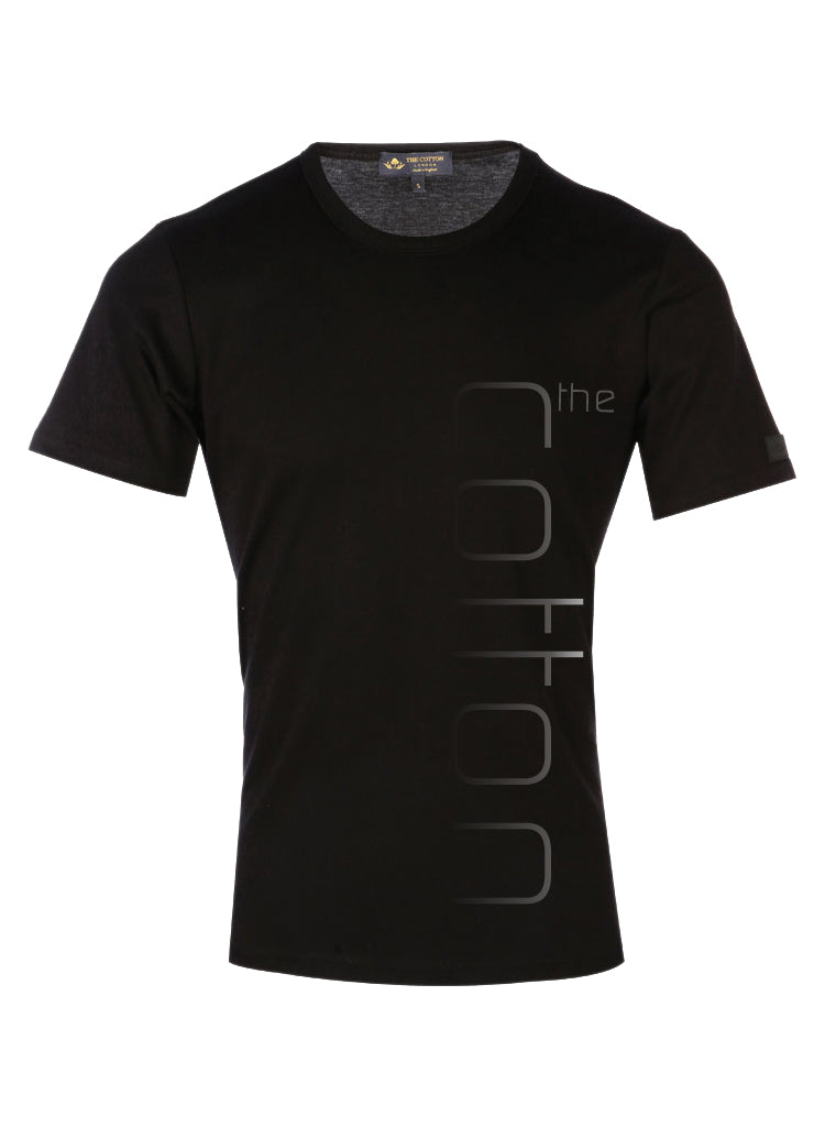 Supima Cotton TCL Brand Black and Grey T-shirt