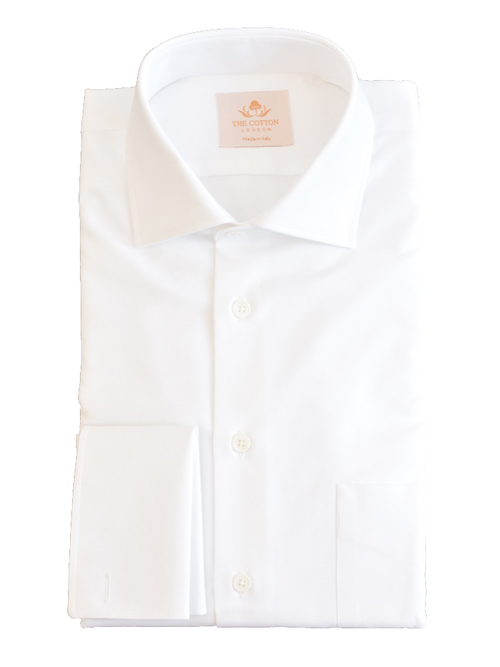 Luxurious crisp white shirt