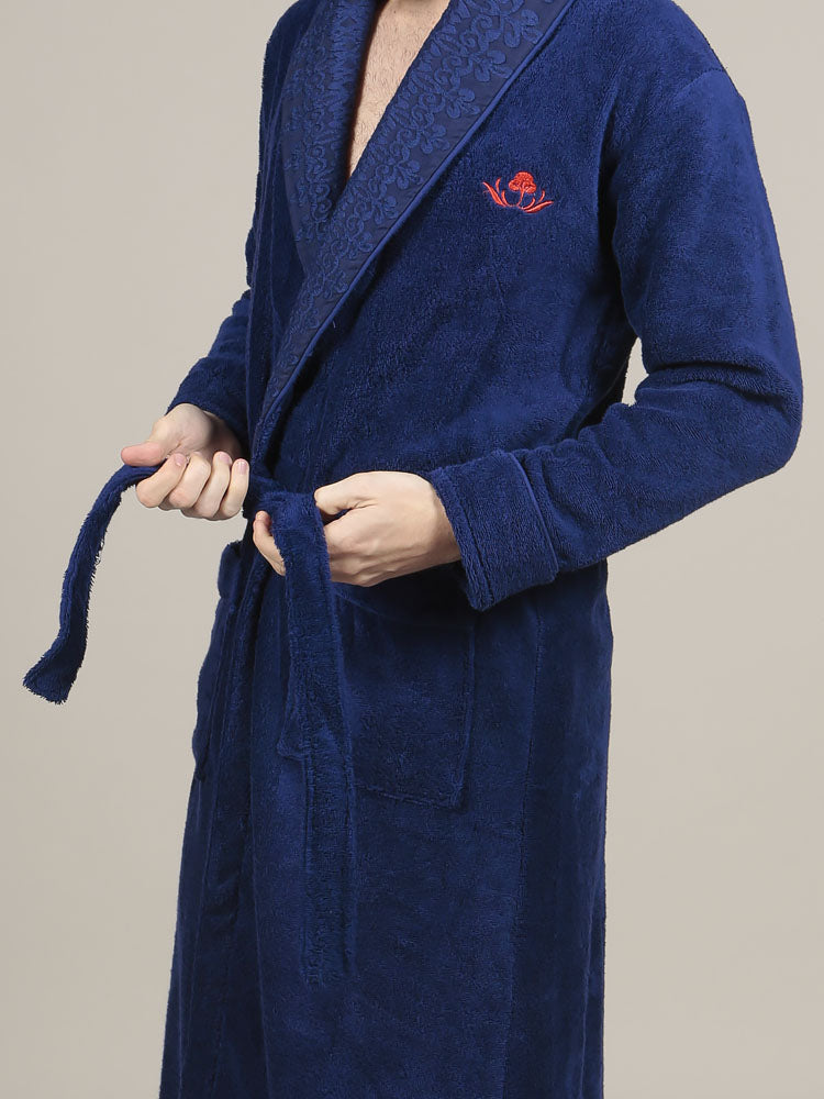100% Turkish terry cotton bathrobe