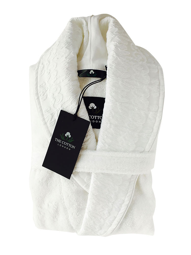 The Cotton® luxury Bathrobe - White