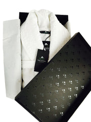 Bathrobe stylishly packed in signature The Cotton® box