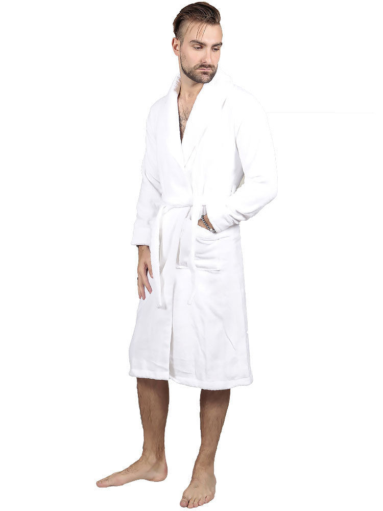 THE COTTON®LUXURY BATHROBE - WHITE