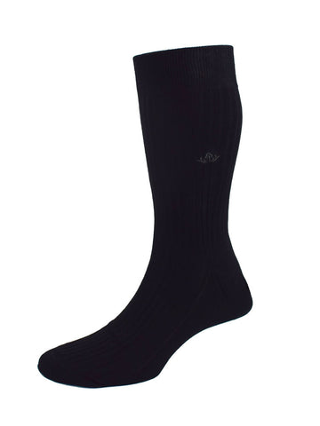 FOX MOTIF SOFT COTTON SOCKS – WINE