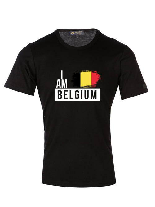 Supima Cotton Belgium Country Football T-shirt