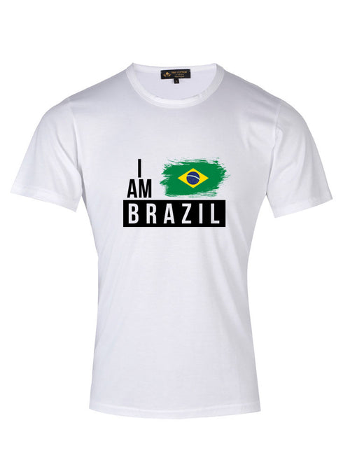 Supima Cotton Brazil Country Football T-shirt
