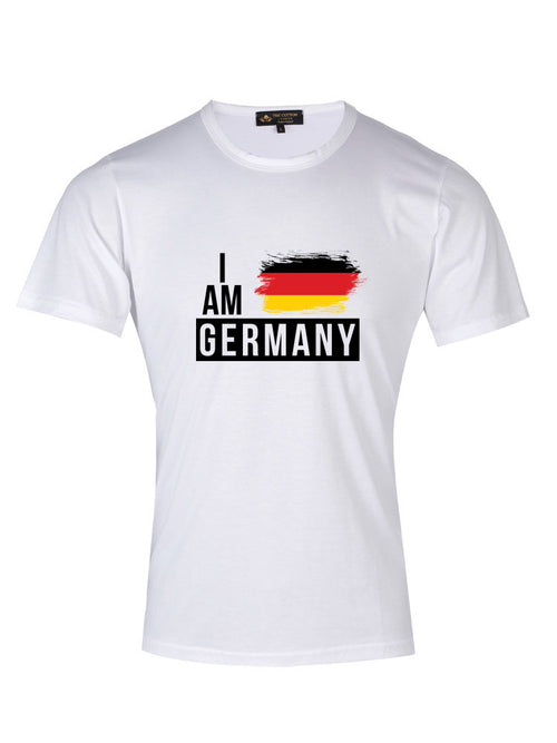 Supima Cotton Germany Country Football T-shirt