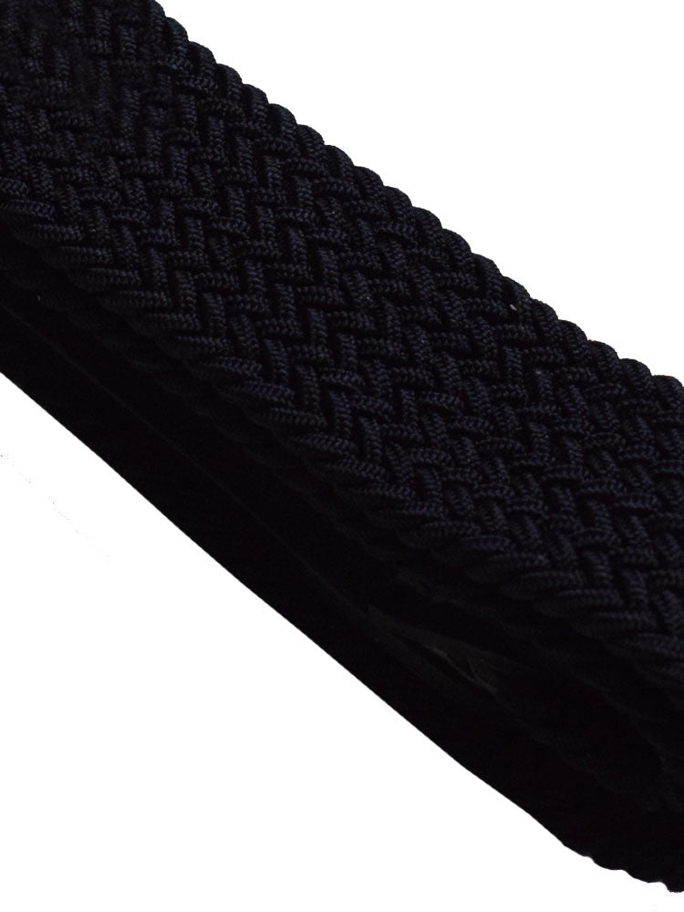 Textured braided weave for belt