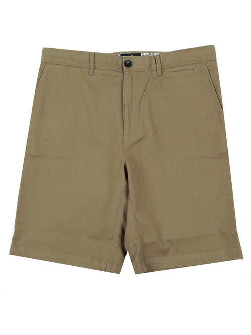 SLIM FIT ITALIAN CHINO SHORTS – CLASSIC KHAKI