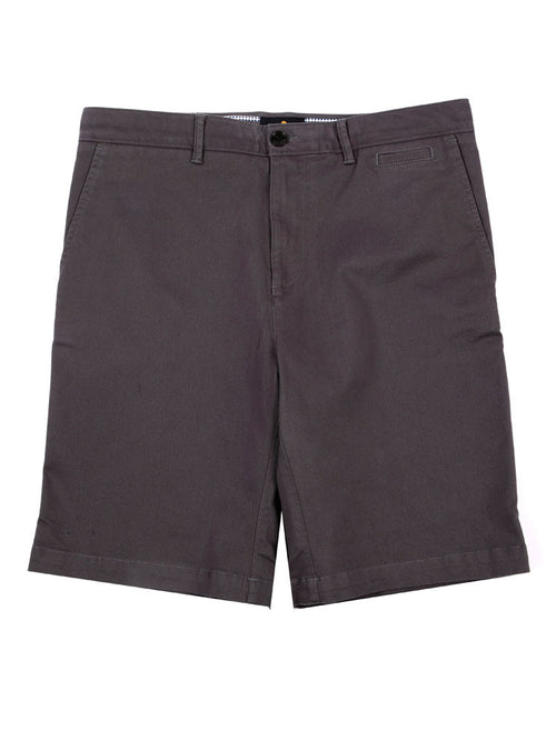 SLIM FIT ITALIAN CHINO SHORTS – CHARCOAL GREY