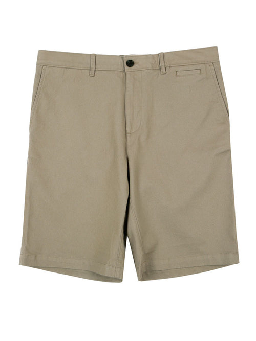 SLIM FIT ITALIAN CHINO SHORTS – LIGHT GREY