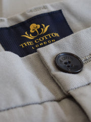 The Cotton® label on Italian Chino trouser