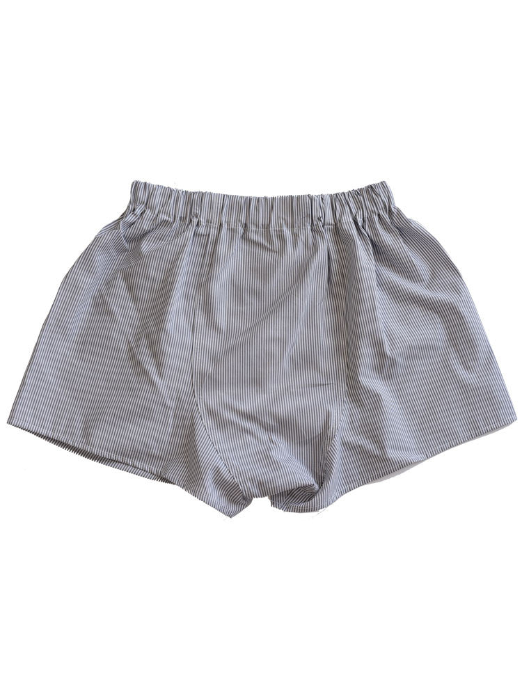 Comfortable flat back section in boxer short