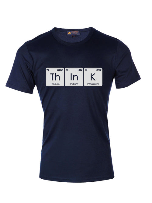 TCL Supima Cotton ThInK Navy T-shirt