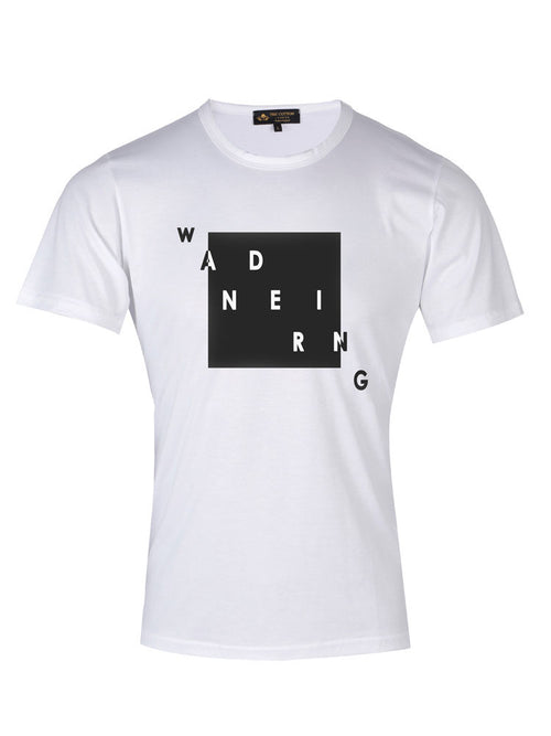 TCL Supima Cotton Wandering White T-shirt