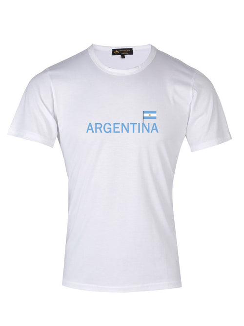 Supima Cotton Argentina Country Football T-shirt