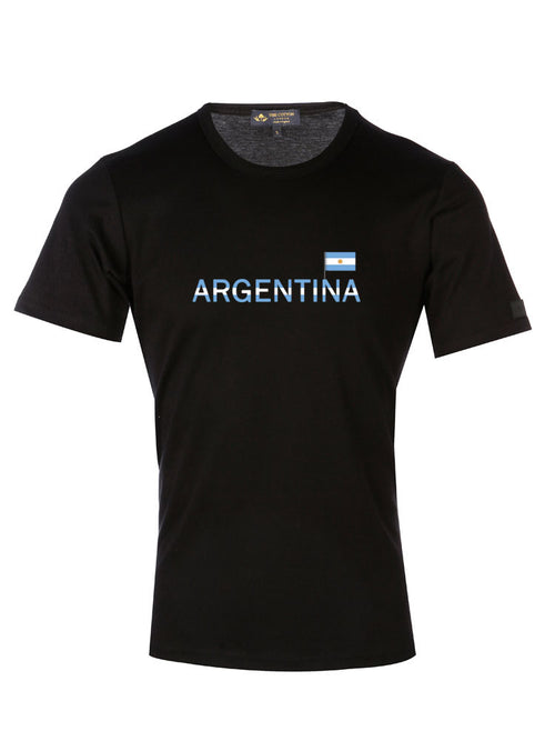 Supima Cotton Argentina's Country Football T-shirt
