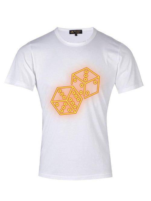 Supima Cotton Dices design T-shrit