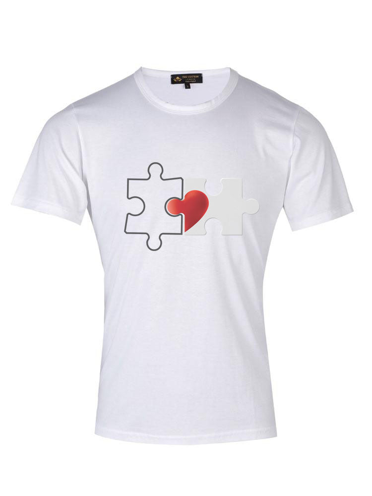 Broken Heart Puzzle T-Shirt