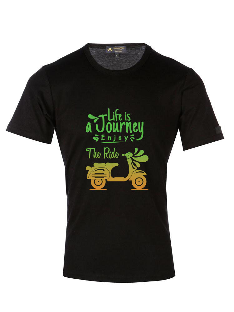 Journey Quoted Custom Text T Shirt
