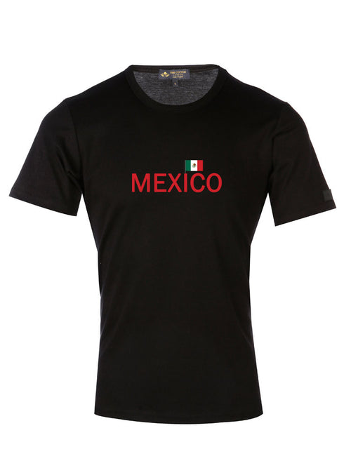 Supima Cotton Mexico Country Football T-shirt
