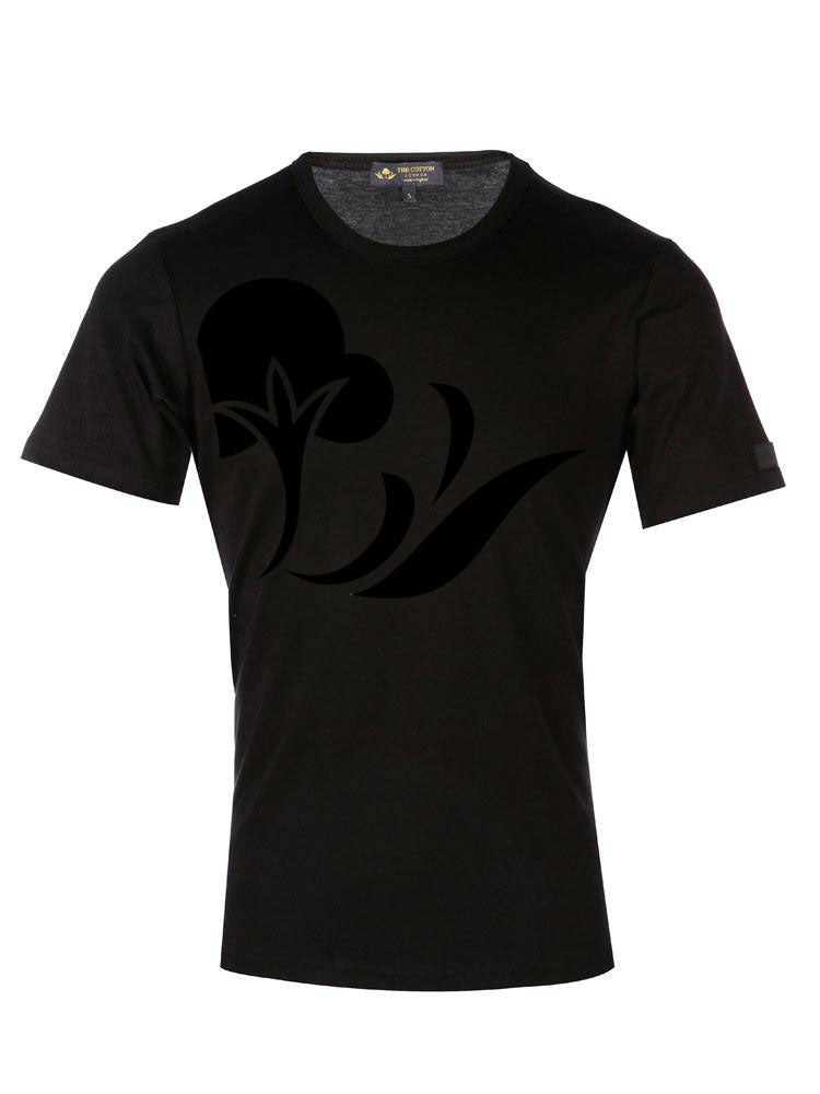 TCL Cotton Logo Black T-shirt