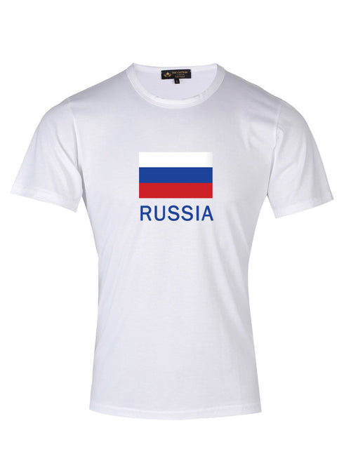Supima Cotton Russia Country T-shirt