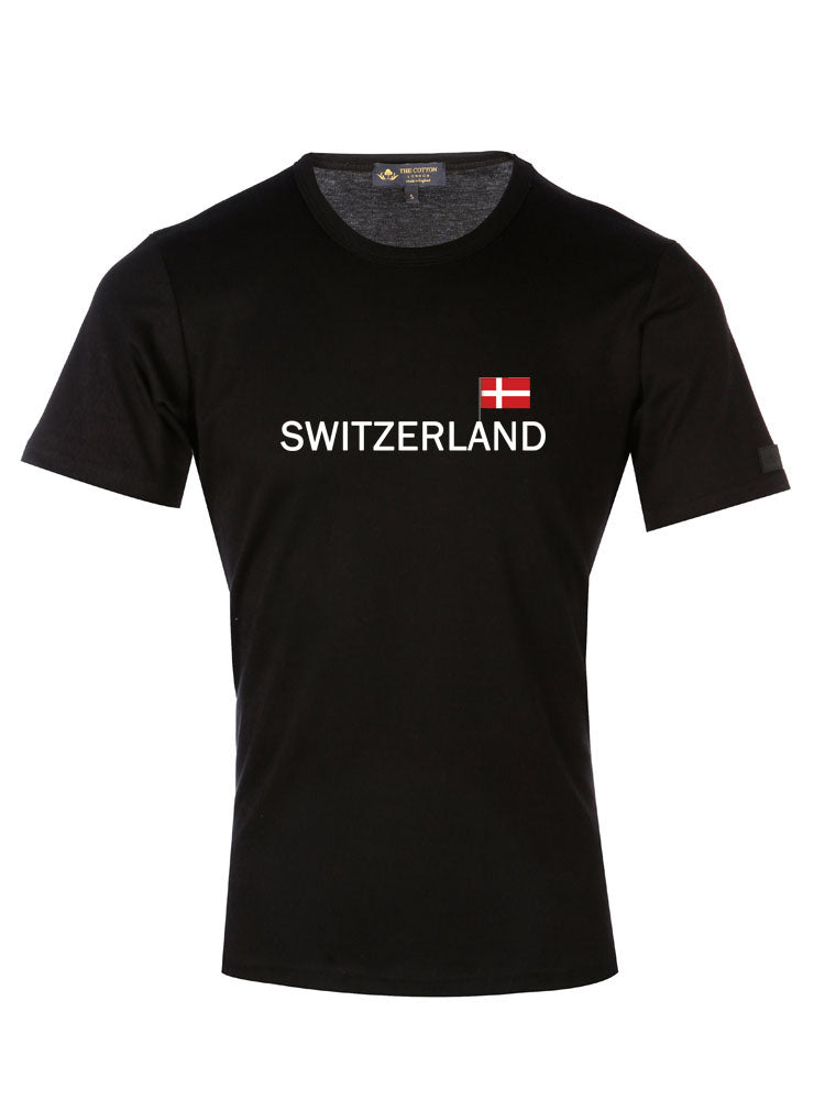 Supima Cotton Switzerland Country T-shirt
