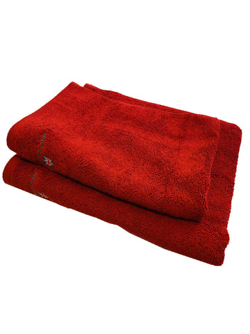 THE COTTON LUXURY 2-PIECE TOWEL BALE- VERDE