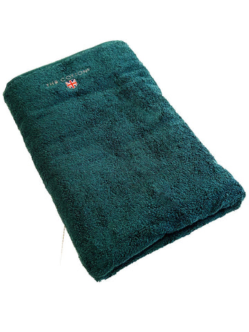 THE COTTON LUXURY BATH TOWEL - TROPICAL BLUE