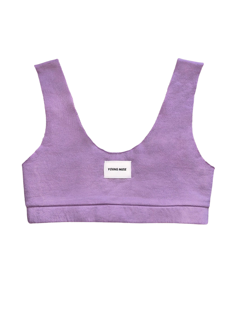 Sporty Top- Lilac