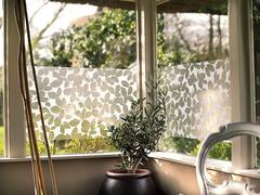 leaf decorative window film