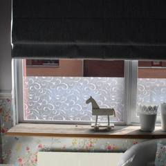 Textured Window Privacy Static Cling