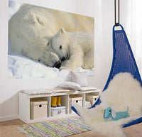 Polar Bears Wall Mural - Window Film World
