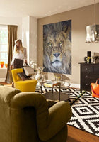 Lion Wall Mural Wall Mural - Window Film World