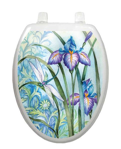 Iris Beauty Toilet Tattoos - Window Film World