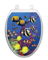 Coral Reef Toilet Tattoos - Window Film World