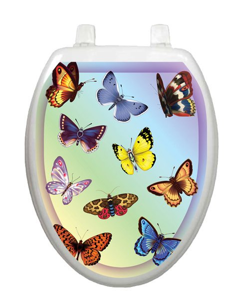 Butterfly Dreams Toilet Tattoos - Window Film World