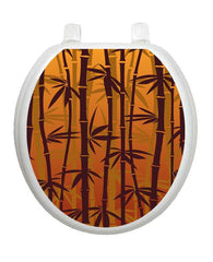 Bronzed Bamboo Toilet Tattoos - Window Film World