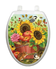 Fall Basket Toilet Tattoos - Window Film World