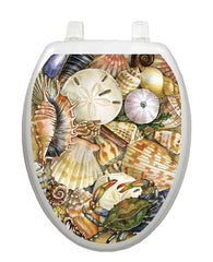 Tidal Treasures Toilet Tattoo - Window Film World